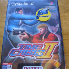 JOC PS2 TIME CRISIS 2 ORIGINAL PAL / STOC REAL / by DARK WADDER - Jocuri PS2 Namco Bandai Games, Actiune, 18+, Multiplayer