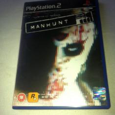 JOC PS2 MANHUNT ORIGINAL PAL / STOC REAL / by DARK WADDER - Jocuri PS2 Rockstar Games, Actiune, 18+, Single player