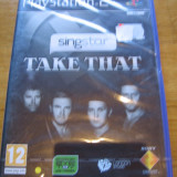JOC PS2 SINGSTAR TAKE THAT SIGILAT ORIGINAL PAL / STOC REAL / by DARK WADDER