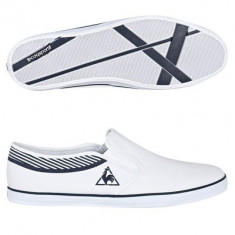 41, 44_Adidasi barbati Le Coq Sportif originali_tenisi originali_panza_cutie - Tenisi barbati Le Coq Sportif, Culoare: Alb, Textil