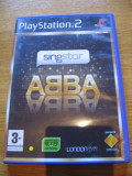 JOC PS2 SINGSTAR ABBA ORIGINAL PAL / STOC REAL / by DARK WADDER, Simulatoare, 3+, Multiplayer, Sony