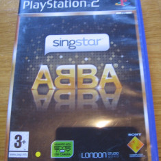 JOC PS2 SINGSTAR ABBA ORIGINAL PAL / STOC REAL / by DARK WADDER, Simulatoare, 3+, Multiplayer, Sony