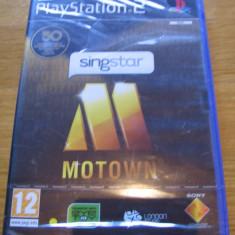 JOC PS2 SINGSTAR MOTOWN SIGILAT ORIGINAL PAL / STOC REAL / by DARK WADDER - Jocuri PS2 Sony, Simulatoare, 12+, Multiplayer