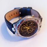 Ceas BULOVA Quartz Chronograph Alarm - Ceas barbatesc Bulova, Elegant, Inox, Piele, Cronograf
