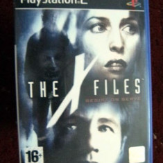 JOC PS2 THE X-FILES RESIST OR SERVE ORIGINAL PAL / STOC REAL / by DARK WADDER - Jocuri PS2 Altele, Actiune, 16+, Single player