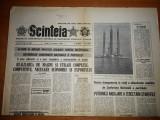 """ziarul scanteia 14 ianuarie 1983-platforma de foraj marin  """" orizont """""""