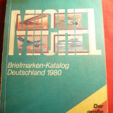 Catalog Michel Germania - timbre 1980,cote in marci comparabile cu cele actuale