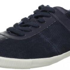 39_Adidasi Calvin Klein Jeans_tenisi barbati_piele naturala nappa_in cutie, Culoare: Albastru