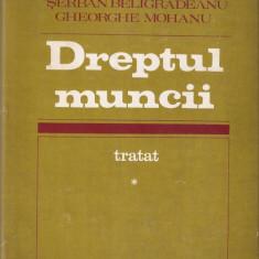 SANDA GHIMPU - TRATAT DREPTUL MUNCII - VOL. I + III{ 478 + 531 p.}, Alta editura