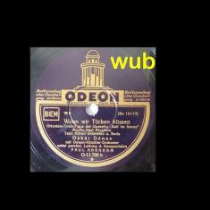 Oskar Denes, disc gramofon/patefon-v repertoriul in foto!, Alte tipuri suport muzica
