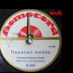 Malvina und Ancaster, disc gramofon/patefon; v repertoriul in foto, Alte tipuri suport muzica