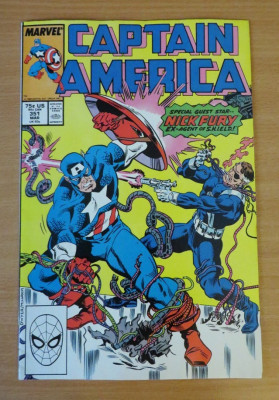 Captain America #351 Marvel Comics foto