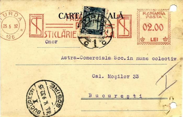 FRANCATURA MECANICA FABRICA DE STICLARIE TURDA 1932