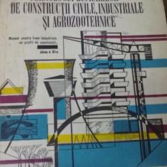 R. Constantinescu - Tehnologia lucrarilor de constructii civile, industriale, agrozootehnice si instalatii