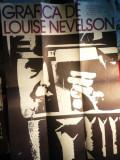 Afis Grafica Louise Nevelson -la Biblioteca Americana 1977