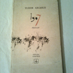1907 - PEIZAJE  ~ TUDOR ARGHEZI