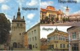 Carte postala CP MS018 Sighisoara Targu Mures Reghin - Colaj - necirculata