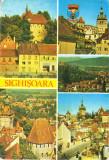 Carte postala CP MS033 Sighisoara - circulata 1989