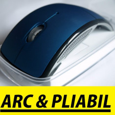 Mouse wireless ARC, Laser, 1000-2000