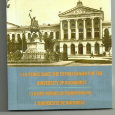 ROMANIA 10 LEI 2014, 150 Ani infiin Universitatii Bucuresti, AG, Certif BNR - Moneda Romania, Argint