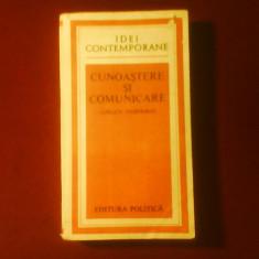 Jurgen Habermas Cunoastere si comunicare - Carte Filosofie