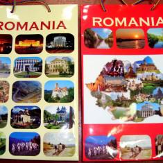 PC S Set de 10 Pungi Cadou - Medie (26x17x7 cm) - Model Romania - Agenda scolara