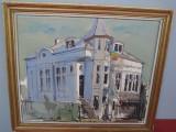 ULEI PANZA SEMNATA TEODOR VISAN 1998, Peisaje, Realism