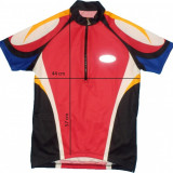 Tricou bicicleta ciclism LOFFLER original, fermoar YKK Vislon, tesatura fagure (dama M spre L) cod-168830 - Echipament Ciclism, Tricouri