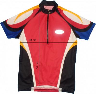 Tricou bicicleta ciclism LOFFLER original, fermoar YKK Vislon, tesatura fagure (dama M spre L) cod-168830 foto