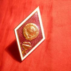 Insemn Militar -Absolvire Academia Militara- Medici Militari URSS