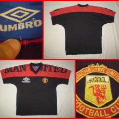 Tricou Fotbal UMBRO MANCHESTER UNITED - suporter : Tricou De colectie - Tricou echipa fotbal, Marime: L, Culoare: Din imagine