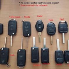 Carcasa cheie telecomanda + lamela Audi A6