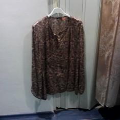 BLUZA DIN MATASE NATURALA MASSIMO DUTTI - Bluza dama, Marime: 42, Maneca lunga, Din imagine