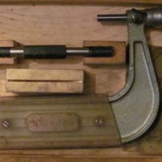 CY - Micrometru vechi MAUSER 100 - 125 fabricat in Germania
