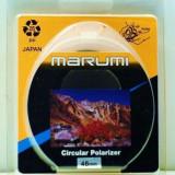 Vand Filtru Marumi  46 mm  - CPL Circular Polarizing Filter  JAPAN, 40-50 mm, Polarizare