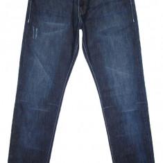 Blugi Barbati BLUE RIDGE TAPERED FIT (USOR CONICI)- ( MARIME: W 32 / L 34 ) - Talie = 86 CM / Lungime totala = 110 CM / Lungime crac interior = 86 C
