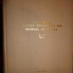 Repertoriul graficii romanesti din secolul al XX-lea (volumul 1/ literele A-C/ cu numeroase figuri) - Album Pictura
