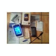 Samsung S2 mini gri galben - Telefon mobil Samsung Galaxy Mini 2, Neblocat