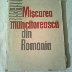 MISCAREA MUNCITOREASCA DIN ROMANIA 1893 - 1900 ~ AUGUSTIN DEAC - Istorie