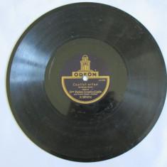 DISC GRAMOFON ODEON, VIOLETA-IONESCU LIGDA(PRIMA SCRISOARE SI COPILUL ORFAN) - Muzica Blues Altele, Alte tipuri suport muzica