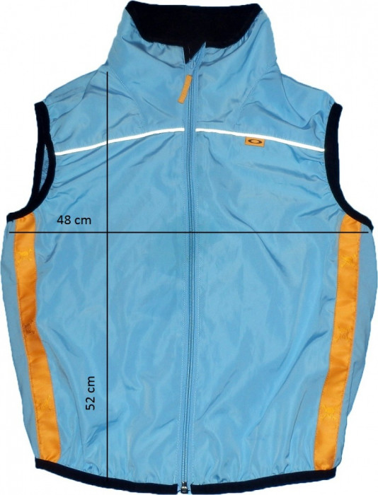 Vesta sport jogging drumetii montane OAKLEY, fermoare YKK originala (XS spre S) cod-168974 foto mare