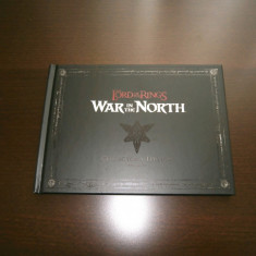 Artbook + coloana sonora -  Lord of the Rings :  War in the North , de colectie