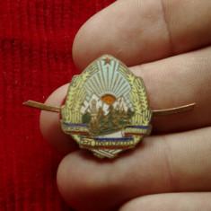 Insigna cuc militara - RSR ( Republica Socialista Romania ) !!!, Romania de la 1950