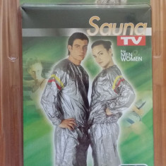 Costum pentru slabit SAUNA, Costum fitness