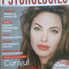 REVISTA PSYCHOLOGIES NR. 4 IANUARIE 2008 - Angelina Jolie