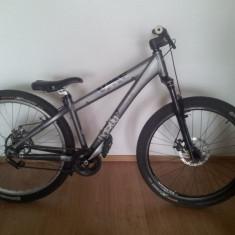 Vand Umf Hardy 3 - Mountain Bike Nespecificat, 15 inch, 26 inch, Numar viteze: 1, Gri, MTB DJ-4X Hardtail