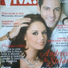 REVISTA VIVA NR. 127 IANUARIE 2007 - Andreea Marin si Stefan Banica - Revista femei
