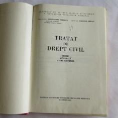 3Cd-TEORIA GENERALA A OBLIGATIILOR-autori Constantin Statescu si Corneliu Barsan - Carte Drept civil