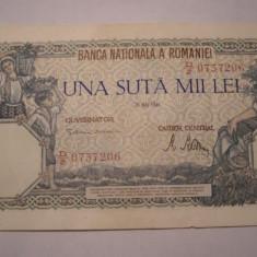 100000 lei 1946 Mai XF