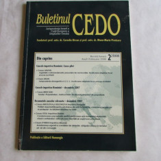 14Cd-BULETINUL CEDO nr.2/2008 - Carte CEDO